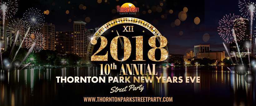 Thornton Park New Years Eve 2018